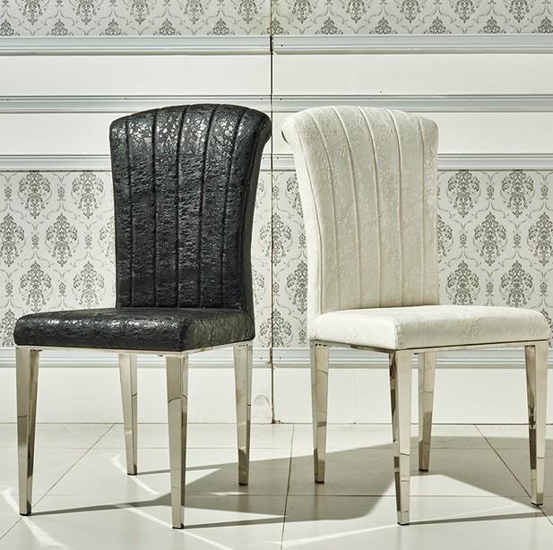 Sillas de cuero comedor stunning mesa de cafe con tapa de for Lo ultimo en sillas de comedor