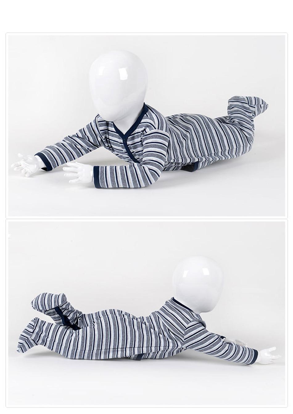 Kavkas/комплект одежды для малышей; зимние комбинезоны в полоску для мальчиков; брендовый комбинезон с длинными рукавами из хлопка; костюм для новорожденных; комбинезон для малышей