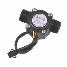 цена на Water flow sensor flowmeter Hall flow sensor Water control 1-30L/min 2.0MPa NEW
