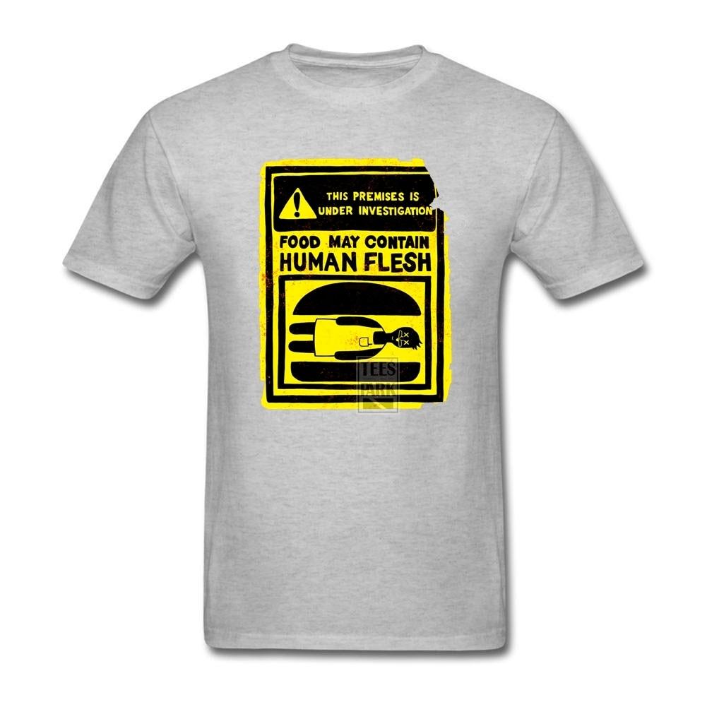 Human design t shirt - Large Size T Shirt Human Flesh Male O Neck Short Sleeve T Shirt Hot Selling