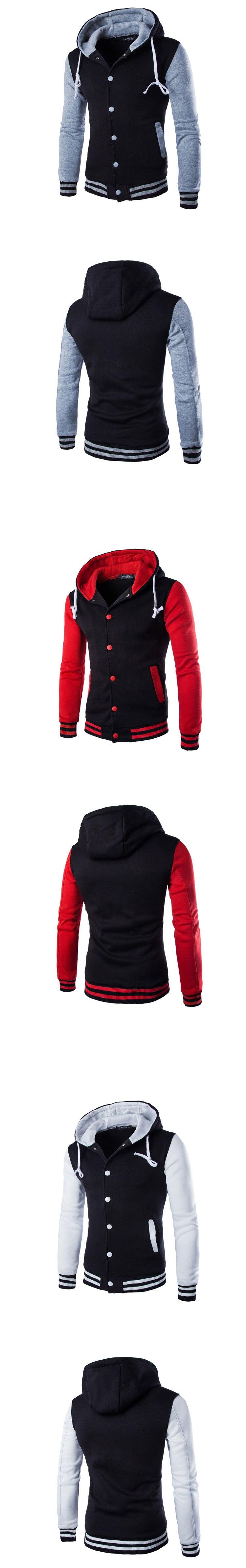 HTB1dtjwfnlYBeNjSszcq6zwhFXaK Mens Hoodie Baseball Jacket Men 2018 Fashion Design Black Mens Slim Fit Varsity Jacket Brand Stylish College Jacekt Veste Homme