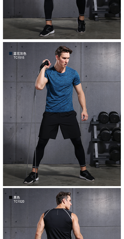 4 pcs Hommes de Remise En Forme Sport costume à manches longues à séchage  rapide de basket-ball maillots collants survetement football 2018 réel gym  courir ... d807965cb4f
