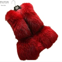 Fake fur coat fashionable 2017 new vest factory direct high-end imitation large size Fur coat artificial fur hot female jacket