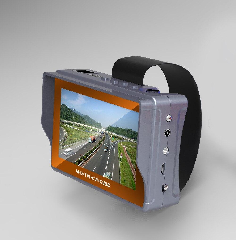 4 3 Inch 4 In 1 HD CCTV Tester Monitor AHD CVI TVI CVBS Analog Cameras