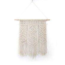 Bohemian woven tapestry wedding exterior decoration background Nordic style home accessories decorative wall hanging