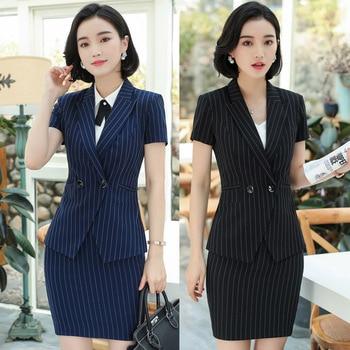 Ladies Stripe Suits