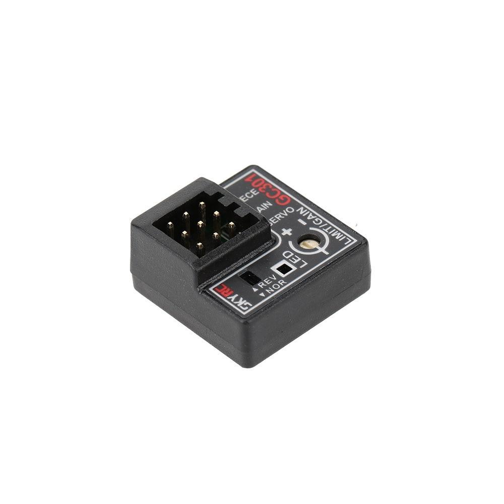 SKYRC GC301 gyro sensor voor RC Cars CH3 Remote gain Steering Output corrigerende steering aanpassing gyroscop voor RC auto