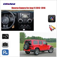 Liislee Car Reverse Rear View Camera For Jeep YJ / TJ / JK / J8 2013~2016 / Compatible With Original Screen / RCA Adapter
