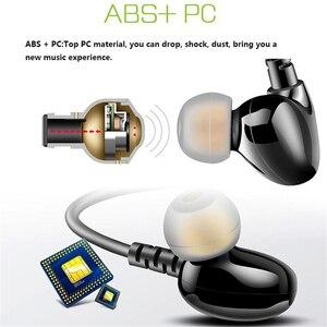 Image 5 - Rukz s6 xbs baixo esporte fones de ouvido para o telefone móvel com cancelamento ruído fone dj estéreo em execução fones alta fidelidade earbud