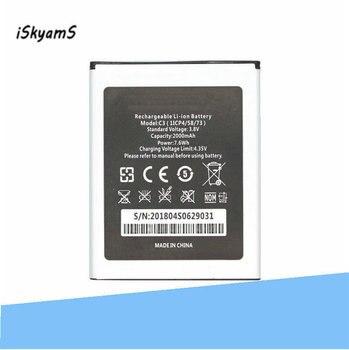 Batería de repuesto iSkyams 1x para batería Oukitel C3 acumulador de Bateria de alta calidad 2000 mAh AKKU