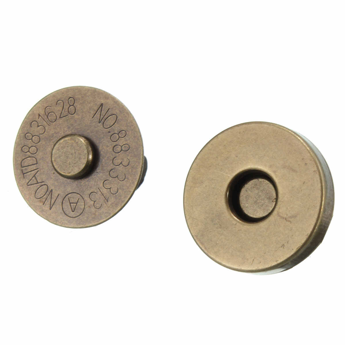 5pc/lot 18MM Magnetic Snap Fasteners Clasps Buttons Handbag Purse Wallet Craft Bags Parts Accessories DIY Replacement Button