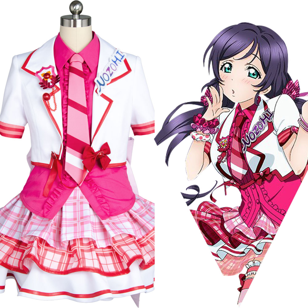 Love Live Cosplay Nozomi Tojo After School Activity Uniform Outfit Anime Cosplay Costume Full Set New Original Version Halloween