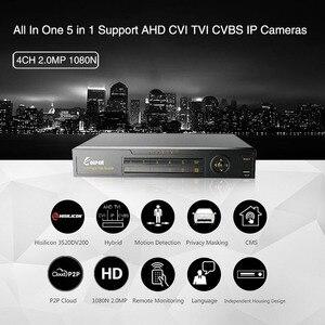 Image 4 - KEEPER enregistreur vidéo hybride DVR, 4 canaux 1080N AHD Full HD, 5 en 1, compatible TVI CVI AHD CVBS IP, 4