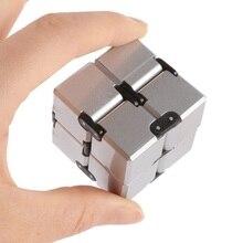 Забавные 2x2x2 Роман волшебный бесконечно куб Skewb палец Непоседа Пластик руки для Аутизм/СДВГ беспокойство стресса фокус Игрушечные лошадки подарок