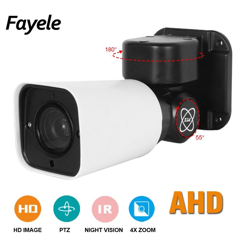 1080 P AHD Bullet PTZ Caméra 4X Zoom Full HD 2MP IMX323 Pan Tilt Rotation IP66 étanche IR 50 M AHD CVI TVI Analogique CVBS 4in1 UTC