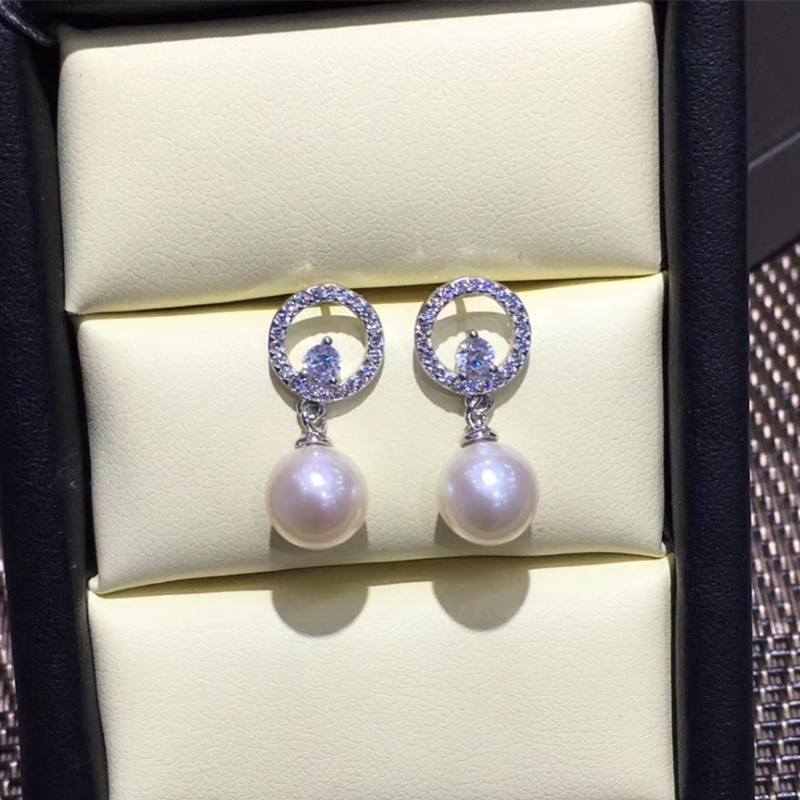New Fashion Factory Price High Quality 925 Silver Stud Earrings Accessories For Women Jewelry Present