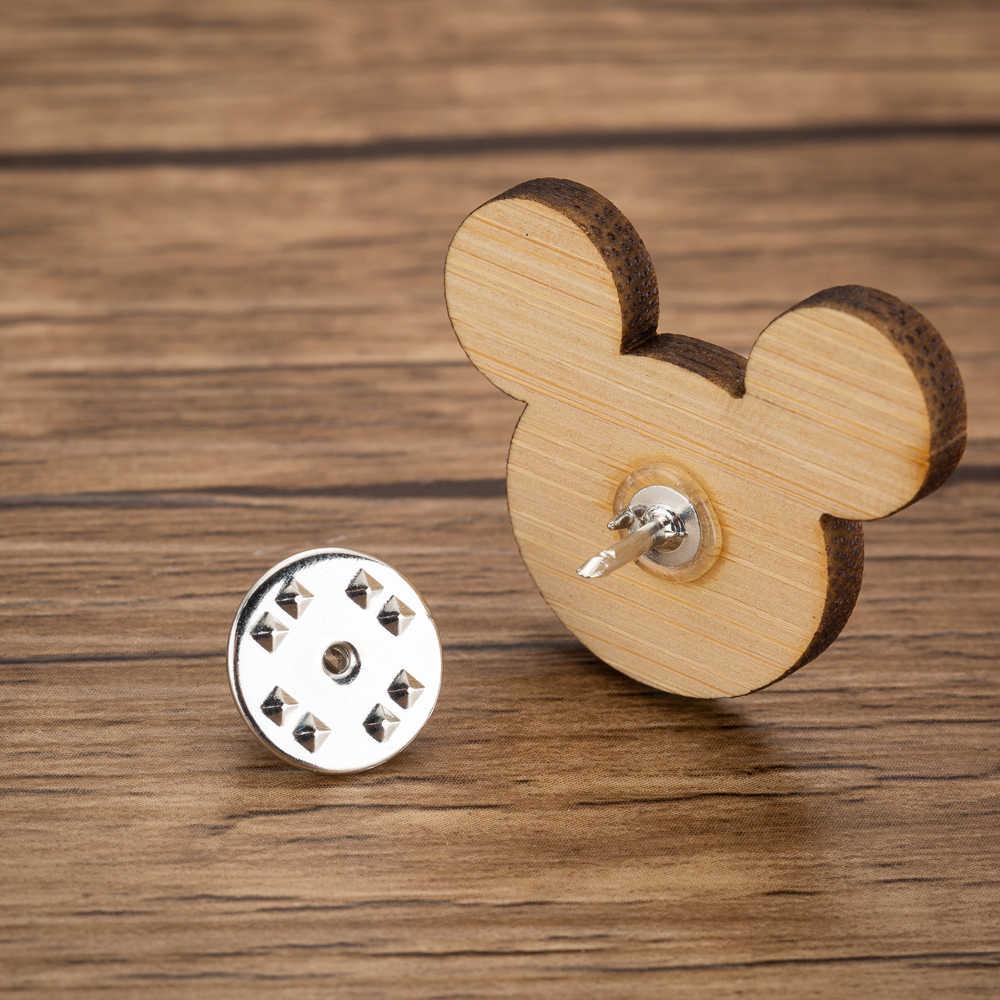 Yiustar 2019 Милая брошь Микки мышь шпильки женский элегантный значок на воротник мышь животное Броши детские ювелирные изделия мультфильм подарки другу