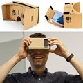 "High quality DIY Magnet Google Cardboard Virtual Reality VR Mobile Phone 3D Viewing Glasses 5.0"" ScreenGoogle VR 3D Glasses"