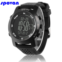 SPOVAN Watch Men's Digital Clock Men Altimeter Barometer Compass Weather Forecast Chronograph Sport Watch Man Relogio Masculino