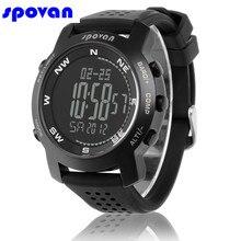 39ba2e74dac1 SPOVAN reloj hombres Digital Reloj hombres altímetro barómetro brújula  pronóstico del tiempo reloj cronógrafo deportivo hombre