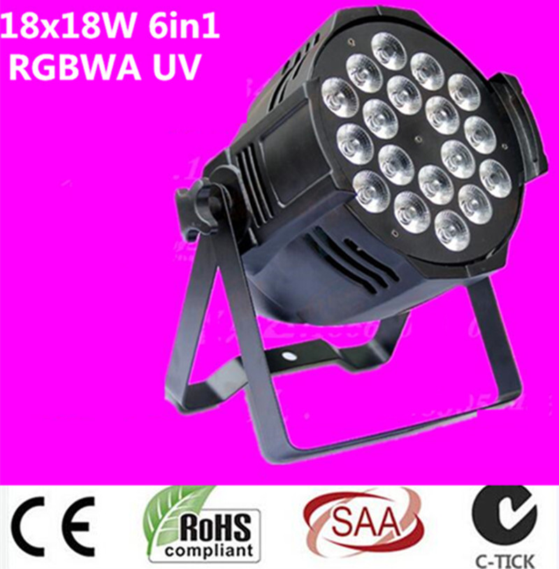dj lighting 18x18w rgbwa uv 6in1 led par light   Aluminum alloy shell new 12v dc diesel fuel water oil car camping fishing submersible transfer pump power tool accessories color random