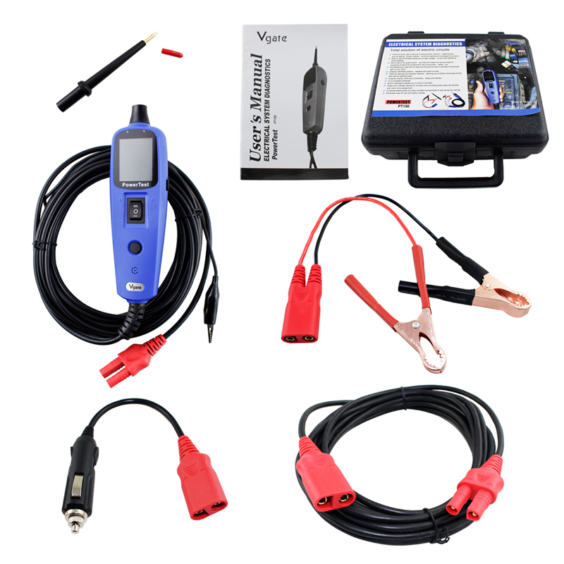 PT150 Power Car Electric Circuit Tester Automotive Tools Auto Voltage Vgate Pt150 Electrical System Tester Same as Autek YD208 ramesh pratap singh soft computing tools for reliability analysis of electric power system