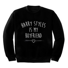 Harry styles es mi novio cita sudadera Unisex tumblr Harry jerseys casual  tops jumper casual tops de alta calidad 196df18ad6072