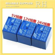5 шт./лот реле SRD-05VDC-SL-A SRD-12VDC-SL-A SRD-24VDC-SL-A SRD-48VDC-SL-A 05V 12V 24V 48V 10A 250VAC 4PIN T73