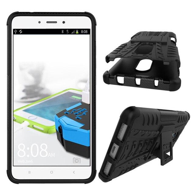 Case for Xiaomi Redmi Note 4 Cover ShockProof TPU +PC Phone Stand Case for Xiaomi Redmi Note 4X Case for Redmi Note 4 Pro Case