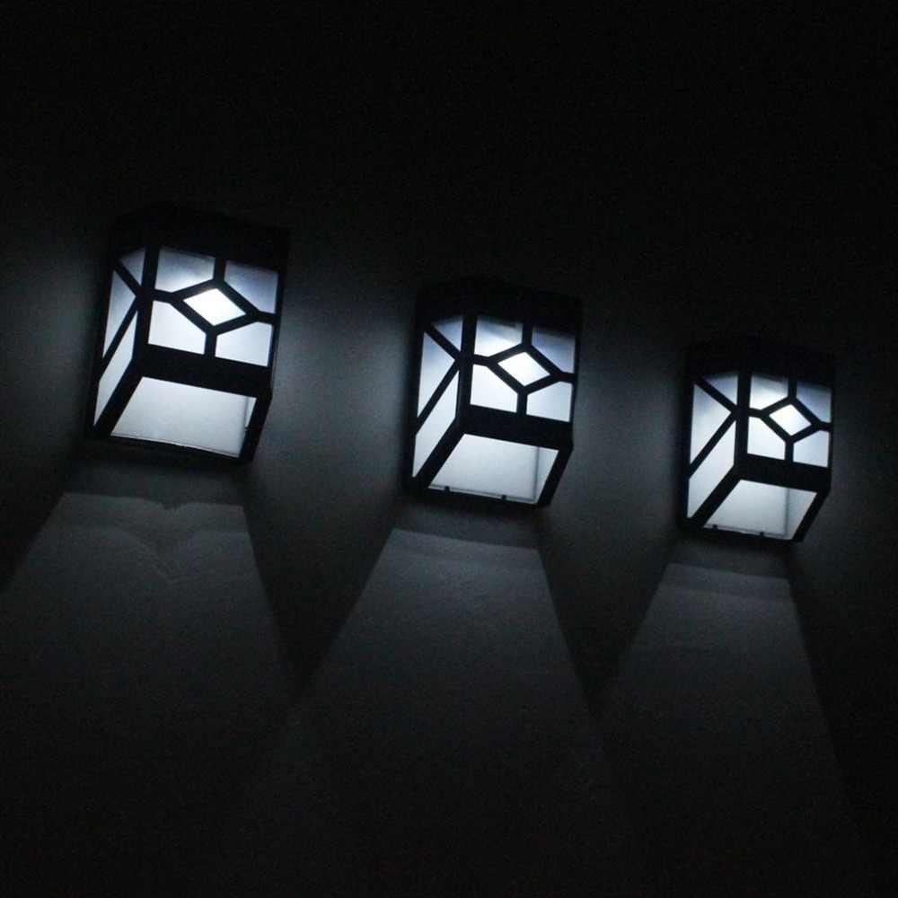 2 светодиодный солнечный свет уличные наземные светодиодные декоративные пути лампы панели Фонарь Солнечный светящийся светодиодный водонепроницаемый тротуар лампа