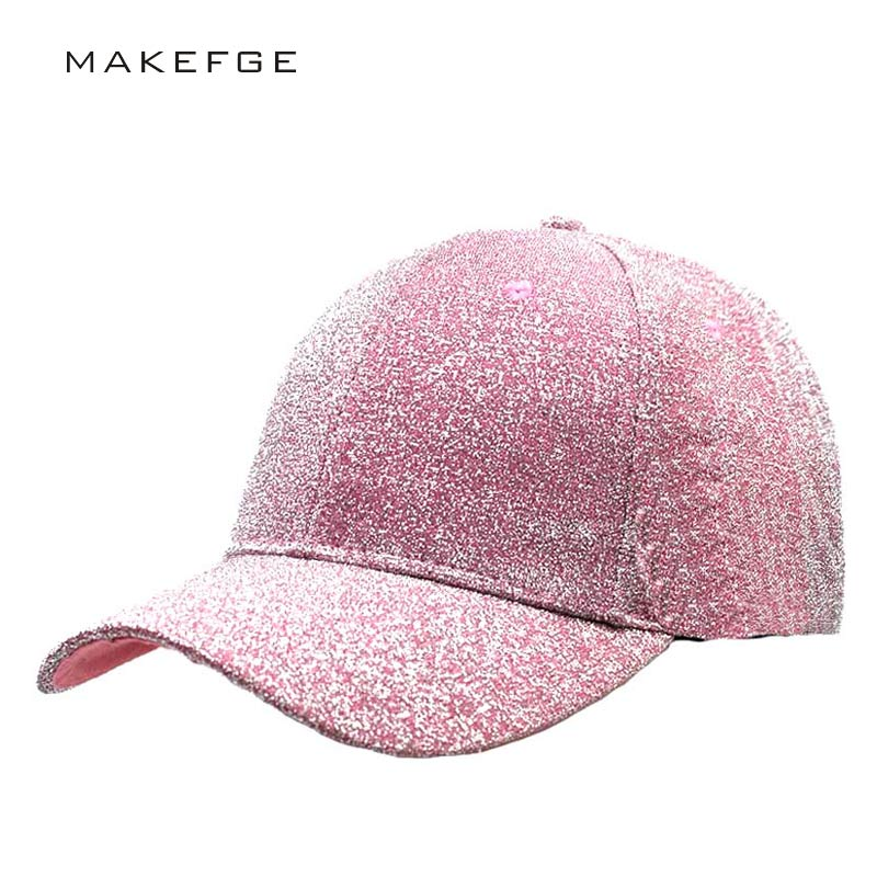 Casual Hats For Women Sequins Flashes 6 Panel Trucker Hip Hop Cap Girl 's Breathable Mesh Hat Summer Baseball Bone Feminino cntang brand summer lace hat cotton baseball cap for women breathable mesh girls snapback hip hop fashion female caps adjustable