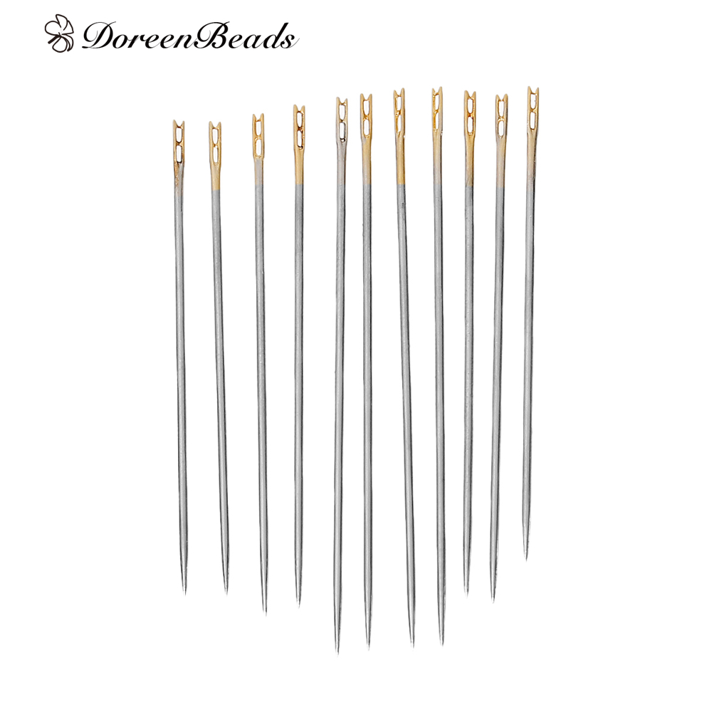 №doreenbeads Alloy Metal Hand Sewing Sewing Needles Tools