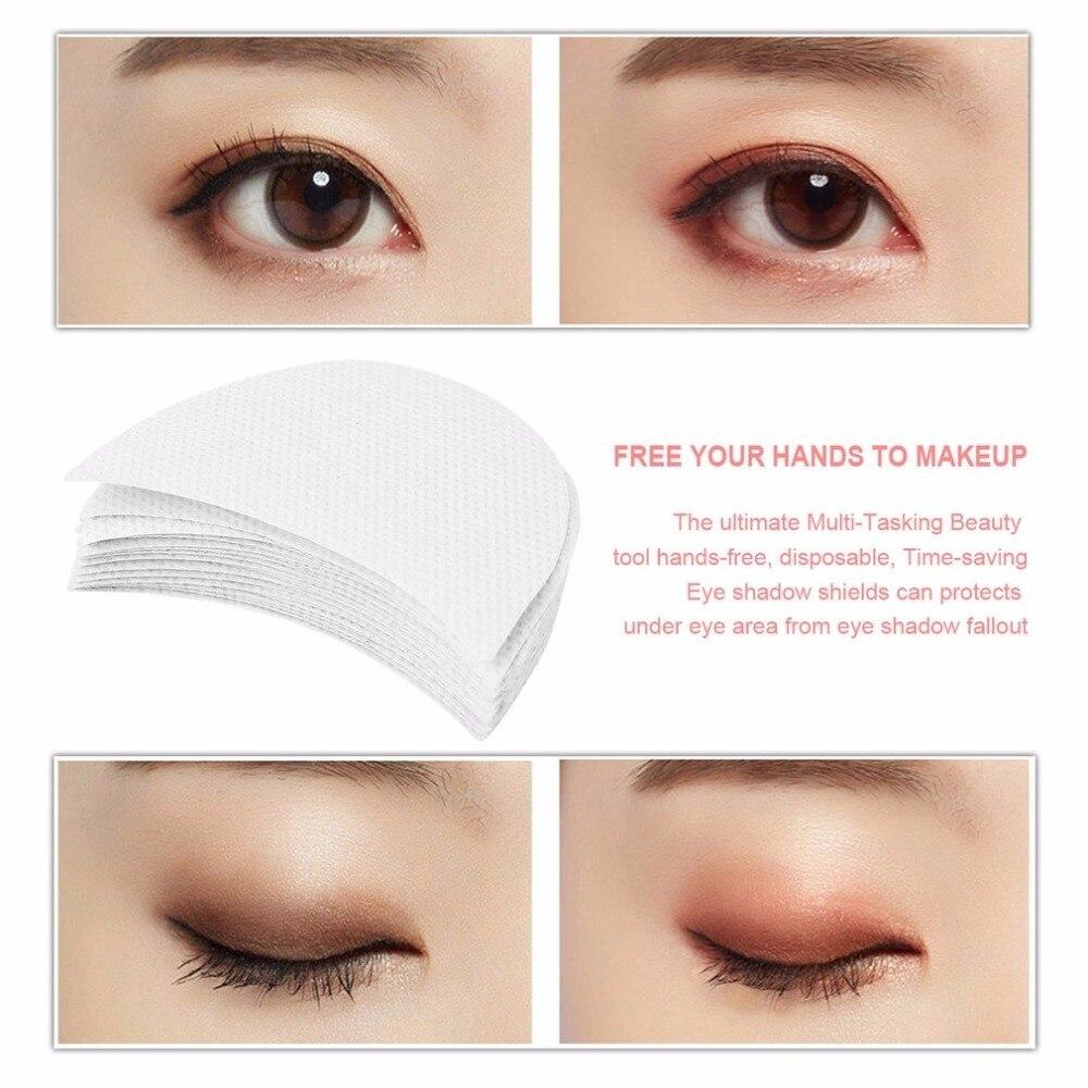 20 шт про хлопок тени для век щитки под глазные накладки одноразовые накладки для наращивания ресниц защитные накладки для глаз средства для...