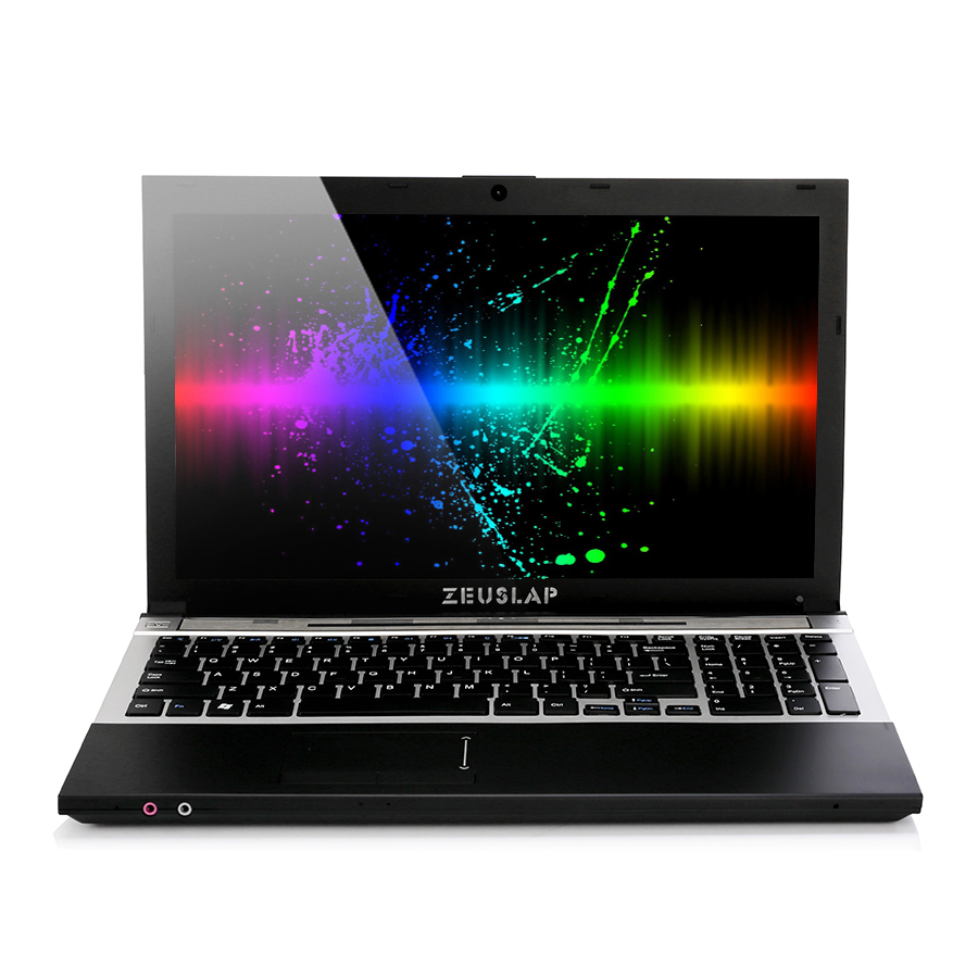 15.6inch Intel Core I7 CPU 8GB RAM 256GB SSD 500GB HDD 1920*1080P FHD WIFI Bluetooth With DVD-ROM Notebook Computer PC Laptop