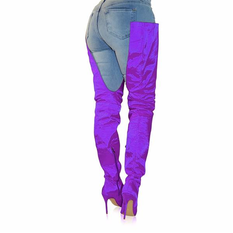 Silla rose Cuissardes Sur green purple Dirigeants Talons Nouveau Minces blue Le 2018 Red Super Populaire Mode Haute orange Bottes Genou Femme Pantalon La À Black red TlF3uK1Jc5