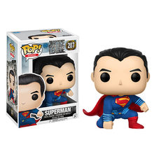 Funko pop DC Comics Justice League Super Hero & Superman Vinyl Action Figure Collection Model Toys for Children Birthday gift(China)