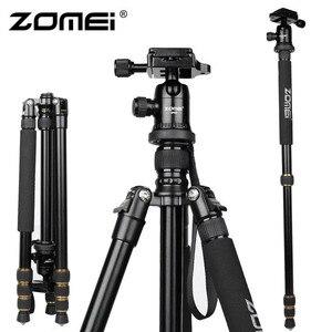 Image 2 - ZOMEI Z688 professionnel Portable caméra trépied support monopode pour appareil photo numérique DSLR avec rotule