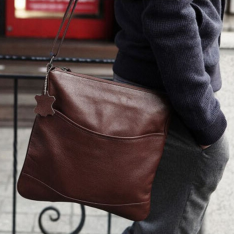 Popular Mens Messenger Bags Leather-Buy Cheap Mens Messenger Bags ...