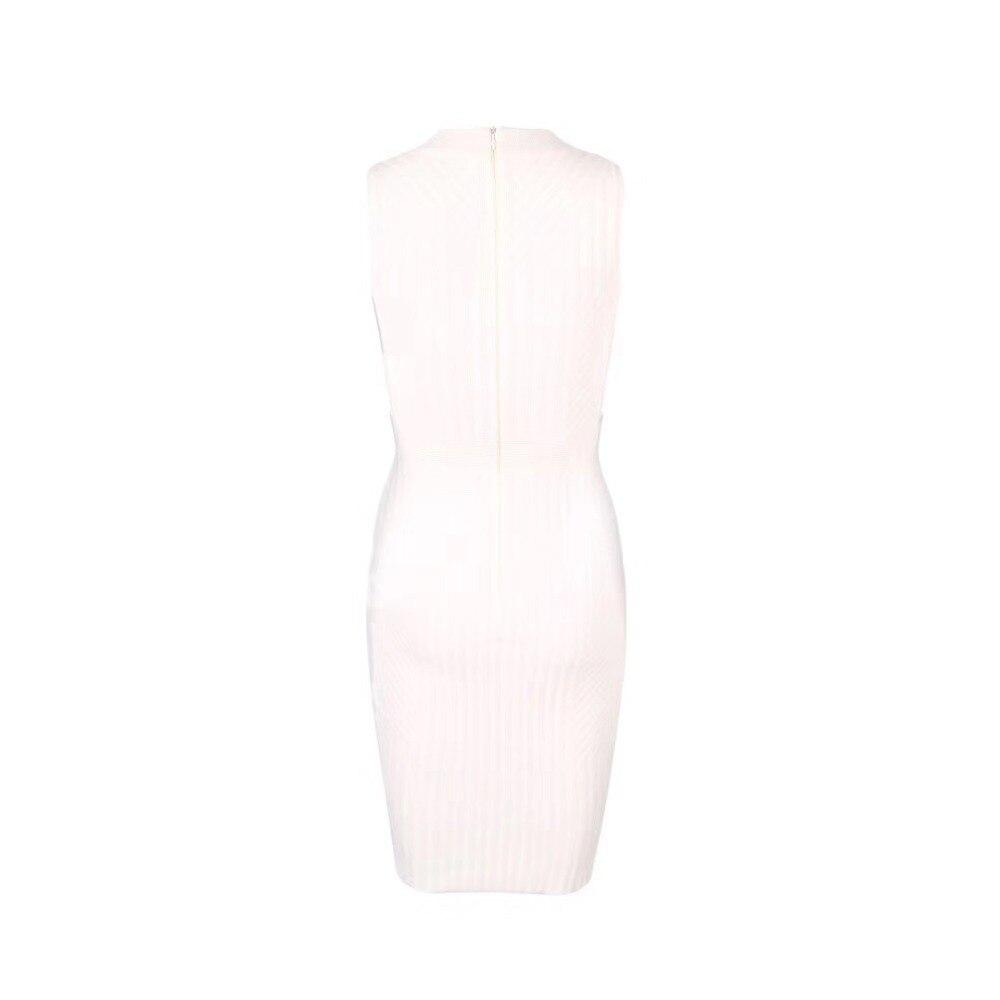 Designer Tenue Lacée Robe Femmes Sexy Robes Nouvelle De D'été Fête Genou Rayonne Élégant Longueur Blanc OTPkiXZu
