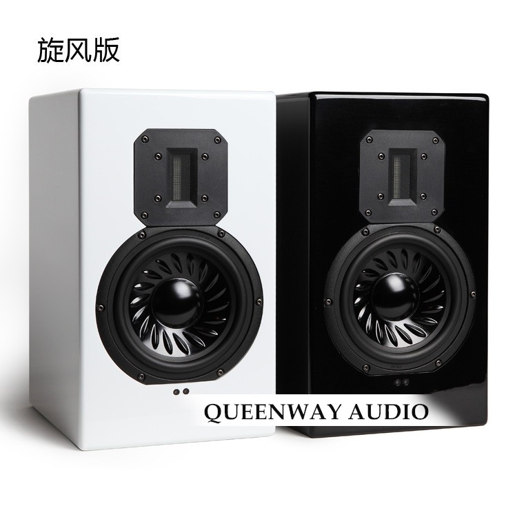 QUEENWAY DM216 Ribbon Tweeter 6.5 inch Active HIFI Bookshelf Speaker DSP Low Distortion 220W hi sensitivity high power air motion tweeter transducer transformer amt ribbon tweeter speaker sets low crossover frequency