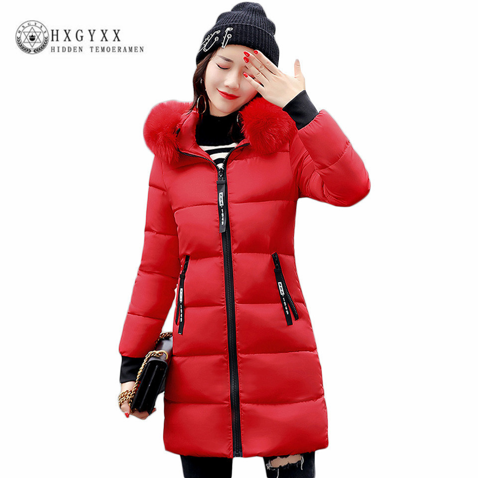 Warm Fur Fashion Hooded Quilted Coat Winter Jacket Woman 2017 ... : quilted fur coat - Adamdwight.com