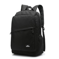School Bags For Teenagers Canvas Backpack Fashion Laptop Travel Backpack Black Bookbags Men Women Sac A