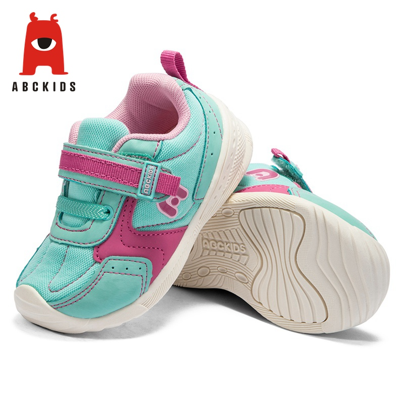ABC KIDS Kids Sneakers leather Flat Shoes mesh Lightweight Breathable Fashion Flat shoes Girls Boys