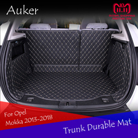 For Opel Mokka Buick Encore 2013 2015 2017 2018 Rear Tail Box Carpets Durable Trunk Mat Cargo Liner Full Coverage Car Styling