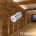 Узкий наружный светодиодный светильник для сада  12 в 1 Вт  мини-точечный светильник подсветка стен светильник  встраиваемый напольный свети...