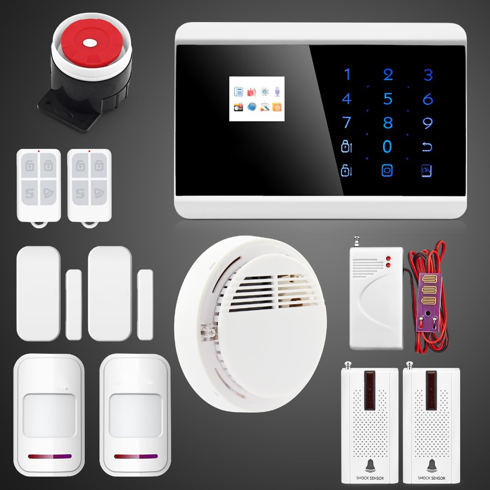 water leak detector wireless gas leakage detector smoke alarm pir motion sensor 433mhz home. Black Bedroom Furniture Sets. Home Design Ideas