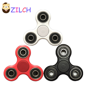 Hot Style EDC Triangle Fidget Toys Spinning Wheel Toy Hand Finger Spinner Reduces Stress For Autism, ADHD, ADD For Adults, Kids(China)