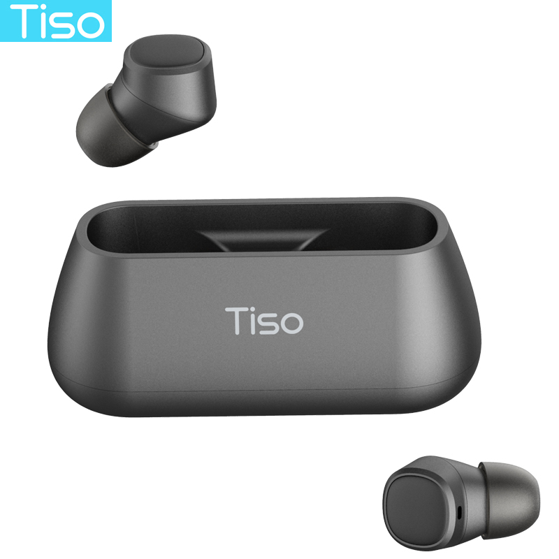 Tiso i4 TWS наушники 50 беспроводные наушники bluetooth Магнитный дизайн встроенный двойной микрофон и 500 мАч power bank зарядная коробка купить на AliExpress