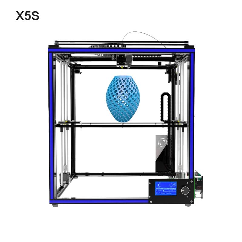 Tronxy X5S X5SA Large 3D Printer Double Z Axis Design High Precision diy kit LCD 3d printing Large Size 330*330*400mm 3D Printer - 5