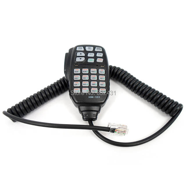 US $13 41 49% OFF|8 Pin HM 133 Mic Microphone for ICOM ID 800H ID 880H IC  E880 IC 2720H IC 2725E IC 208H IC 2800H IC 2820H Car Mobile Radio Walkie-in